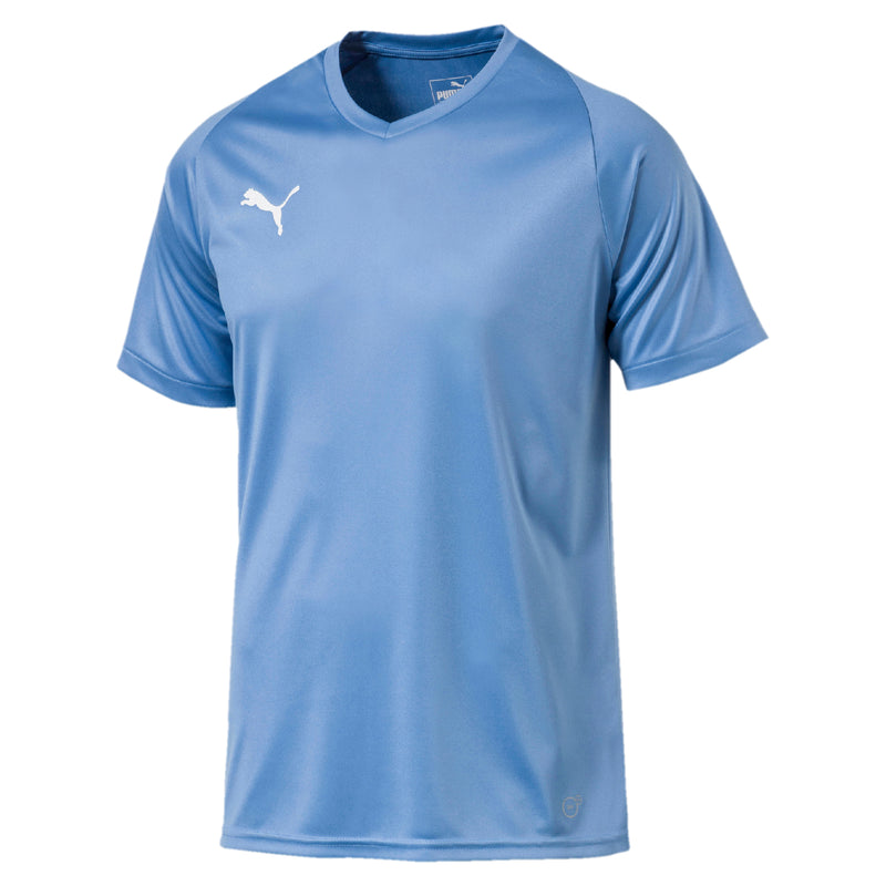 LIGA Jersey Core póló Silver Lake Blue-Puma Black - Teamsport & Lifestyle