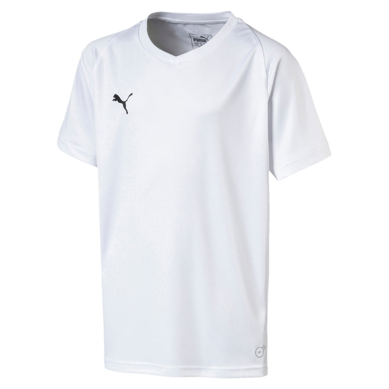 LIGA Jersey Core Jr póló Puma White-Puma Black - Teamsport & Lifestyle