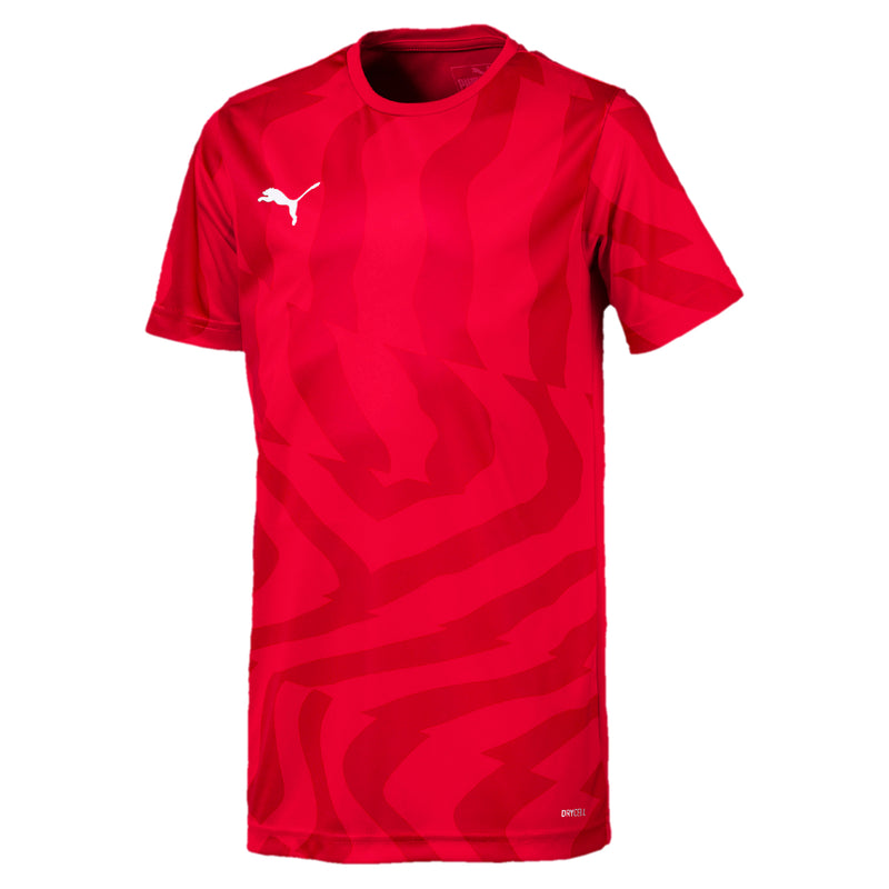 CUP Jersey Core Jr póló Puma Red-Puma White - Teamsport & Lifestyle