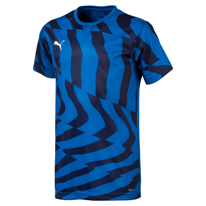 CUP Jersey Core Jr póló Electric Blue -Puma White - Teamsport & Lifestyle