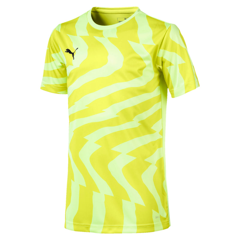 CUP Jersey Core póló Fizzy Yellow-Puma Black - Teamsport & Lifestyle