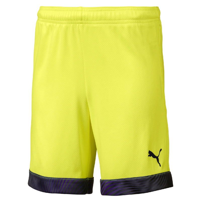CUP sort Jr Fizzy Yellow-Puma Black - Teamsport & Lifestyle