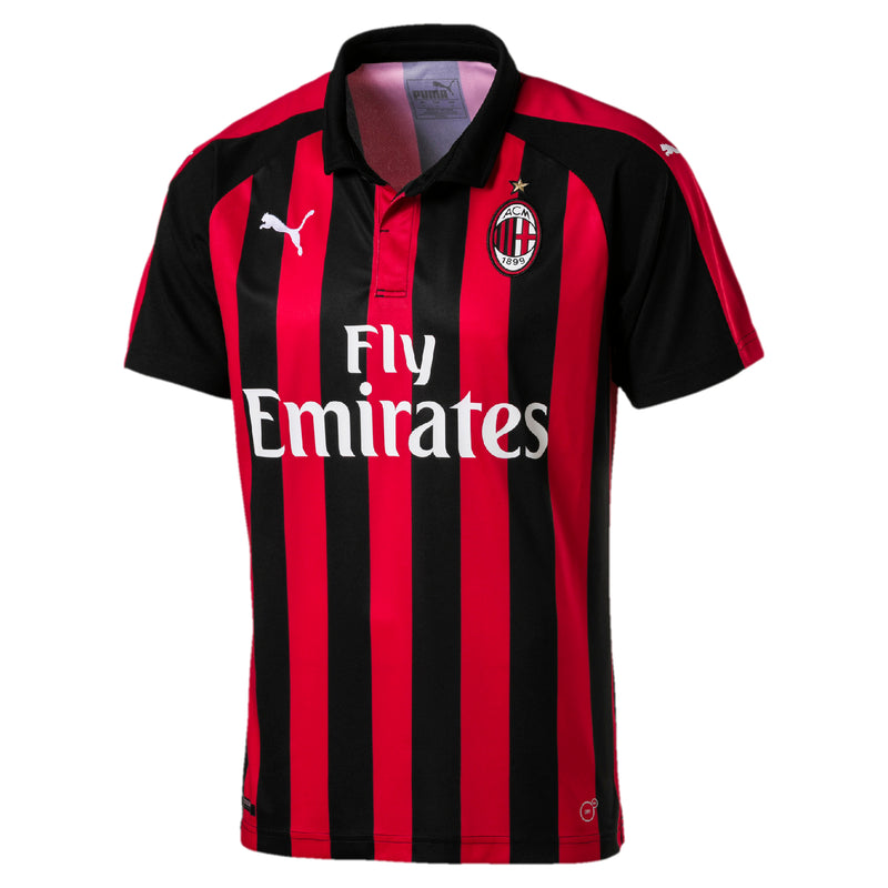 ACM HOME Shirt Replica póló Milan Tango Red-Puma Black - Teamsport & Lifestyle