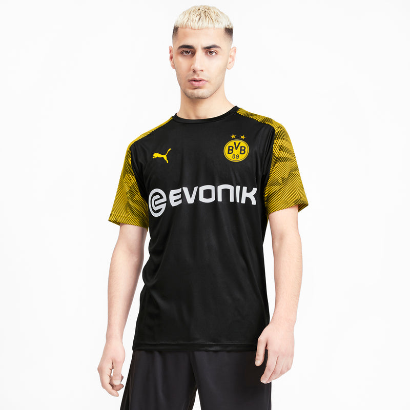 BVB Training Jersey Evonik Puma logóval Puma Black-Cyber Yellow - Teamsport & Lifestyle