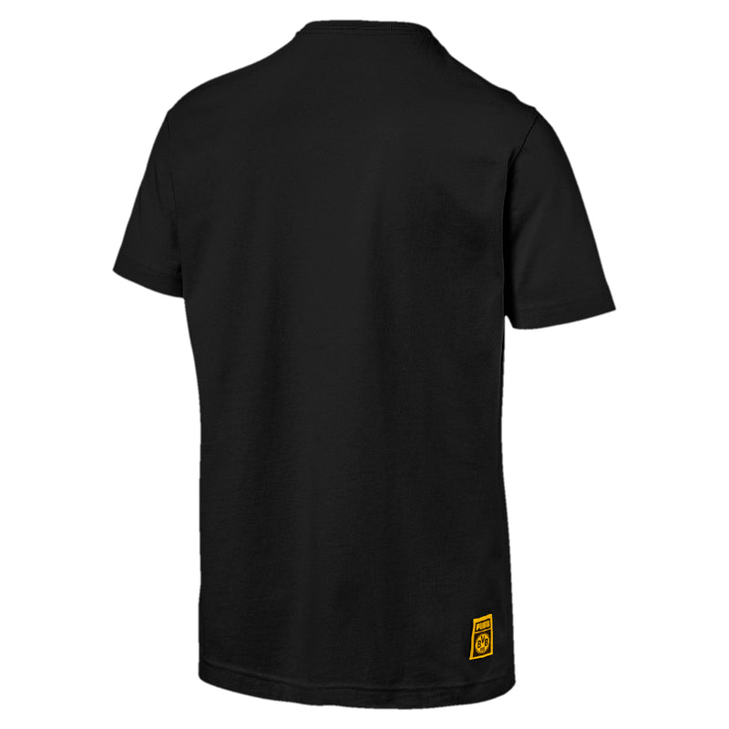 BVB PUMA DNA szúrkoló póló Puma Black - Teamsport & Lifestyle