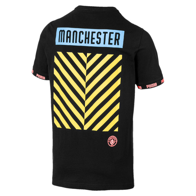 MCFC Ftbl Culture póló Puma Black-georgia peach - Teamsport & Lifestyle