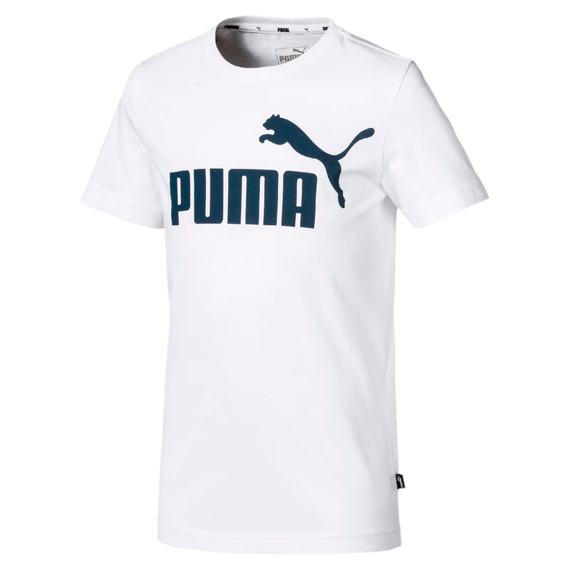 Essentials Logo póló Jr Puma White - Teamsport & Lifestyle
