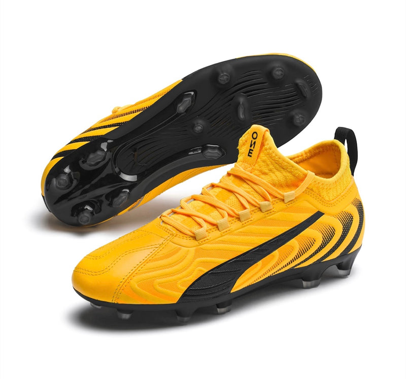 PUMA ONE 20.3 Jr. FG AG football cipő Ultra Yellow - Teamsport & Lifestyle