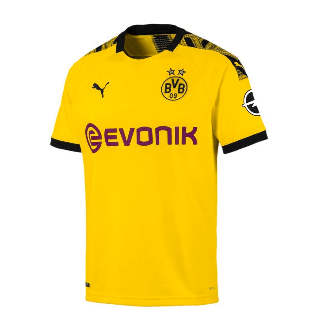 BVB Home Shirt Replica 19/20 póló Cyber Yellow - Black - Teamsport & Lifestyle