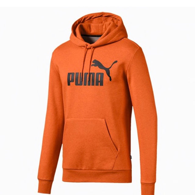 Essentials Fleece Hoodie ffi kapucnis pulóver Jaffa Orange - Teamsport & Lifestyle