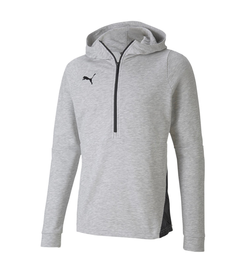 teamFINAL 21 Casuals Hoody kapucnis felső Light Gray Heather - Teamsport & Lifestyle