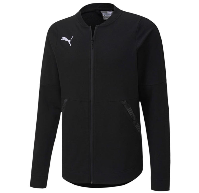 teamFINAL 21 Casuals Jacket ffi felső Puma Black - Teamsport & Lifestyle