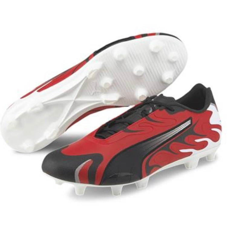 FUTURE INHALE Ltd.Ed. FG AG football cipő Puma White-Puma Black-High Risk Red-Puma Silver - Teamsport & Lifestyle