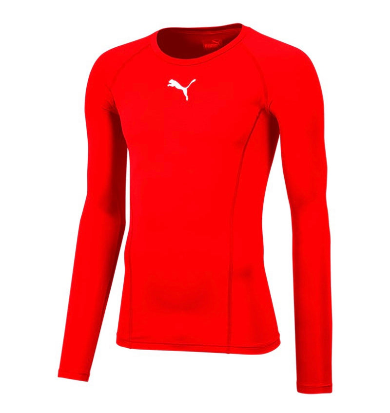 LIGA Baselayer póló LS Red