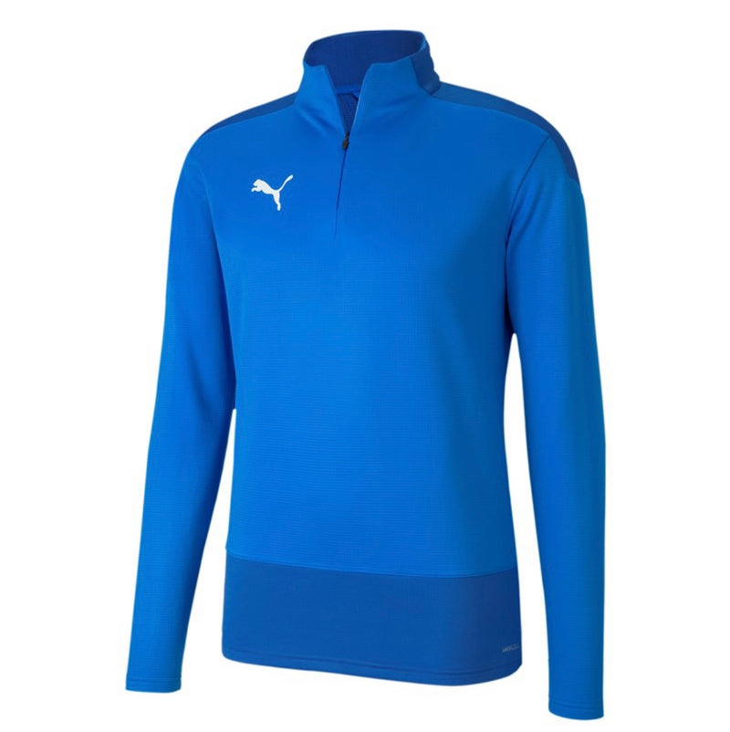 TeamGoal 23 Training 1 4 Zip Top pulóver Electric Blue-Puma White