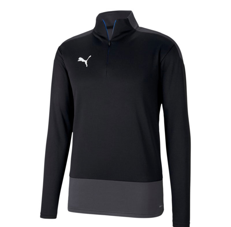 TeamGoal 23 Training 1 4 Zip Top pulóver Puma Black-Puma White