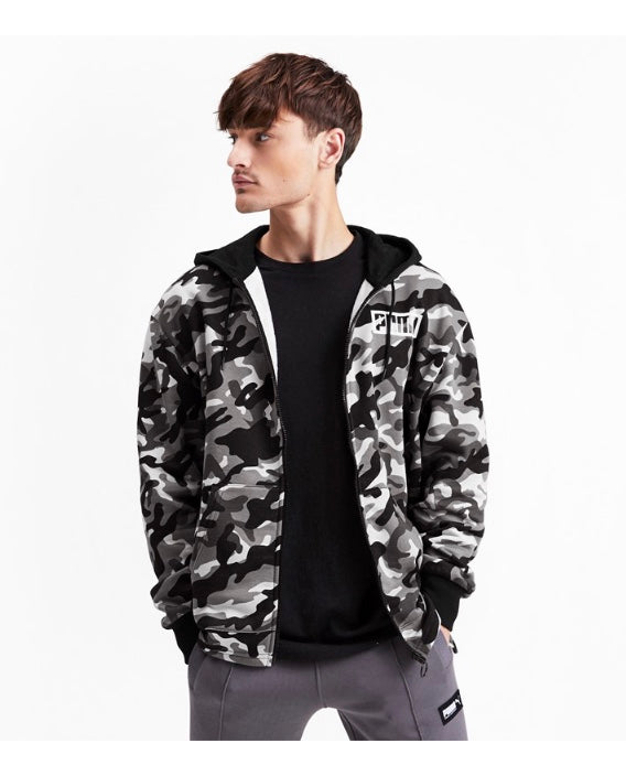 Rebel CAMO FZ Hoody FL ffi Puma Black - Teamsport & Lifestyle