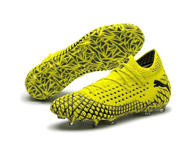 FUTURE 4.1 NETFIT FG AG football cipő Yellow Alert-Puma Black - Teamsport & Lifestyle
