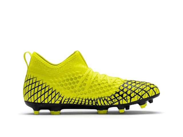 FUTURE 4.3 NETFIT Jr. FG AG football cipő Yellow Alert-Puma Black - Teamsport & Lifestyle