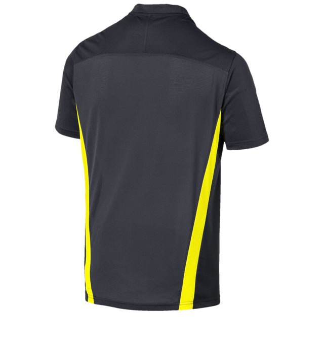 ftblNXT football póló Ebony-Yellow Alert - Teamsport & Lifestyle