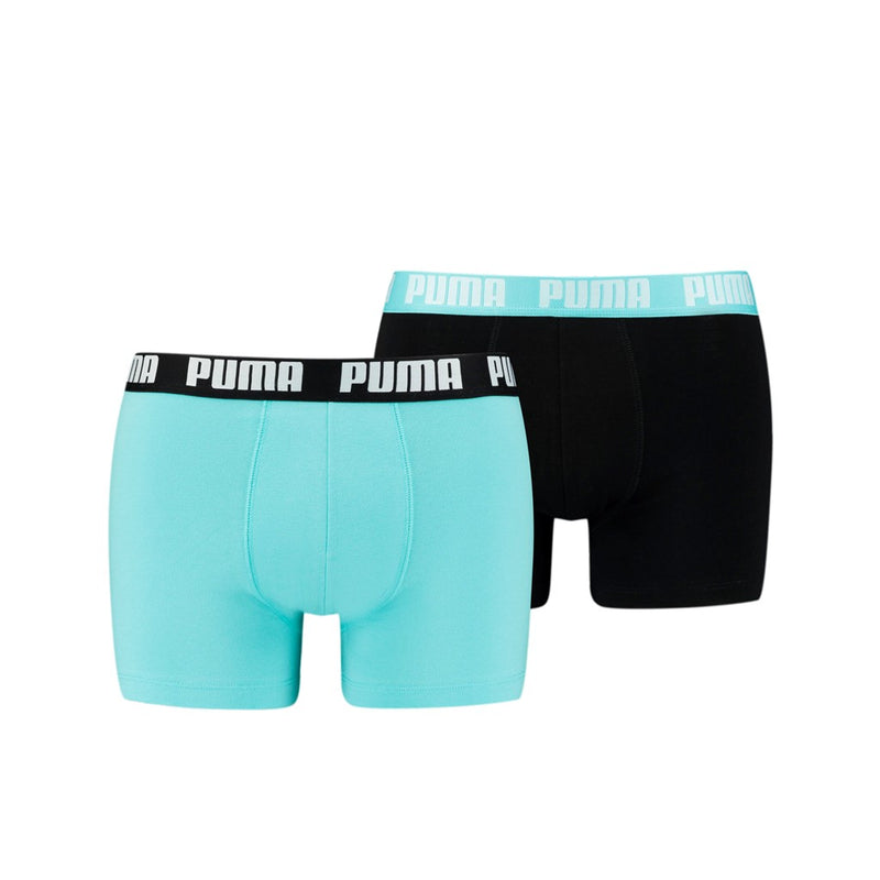 PUMA BASIC BOXER 2P blue-black