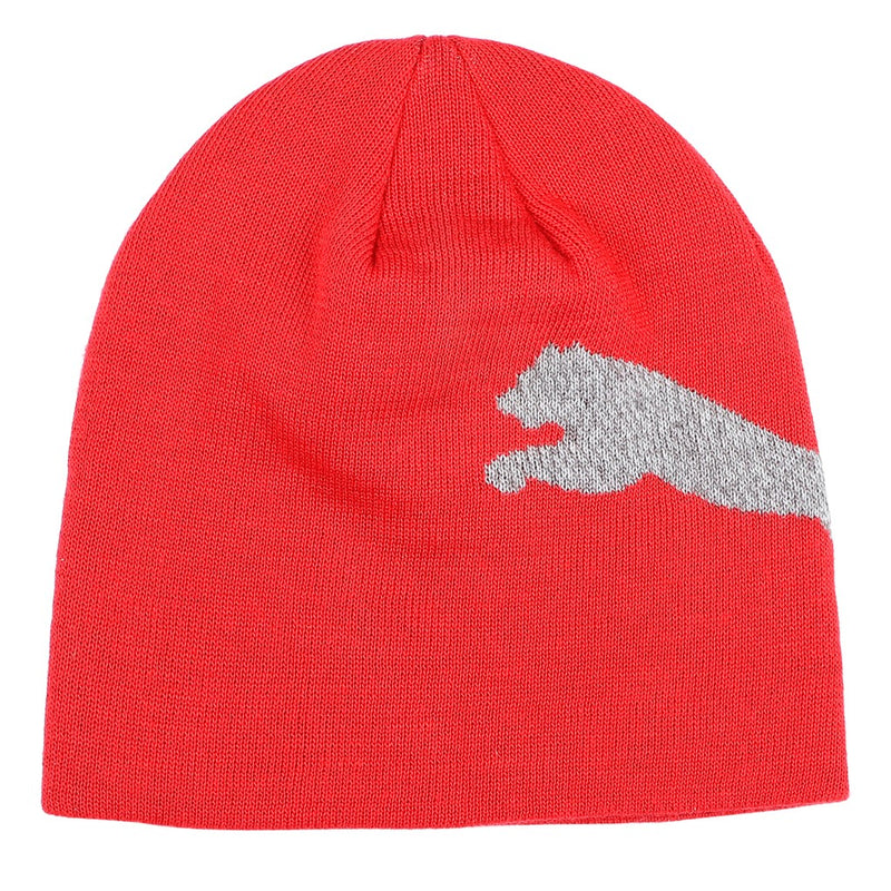 Ess Logo beanie Puma sapka Risk Red-Big Cat