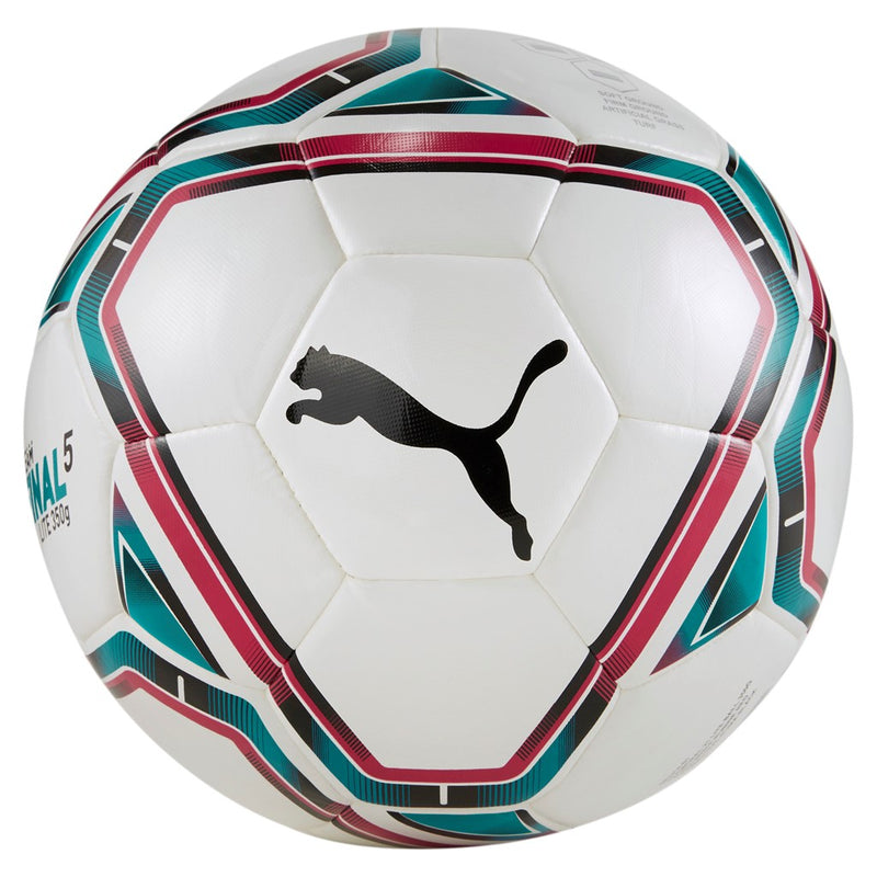 teamFINAL 21 Lite ball (350g) könnyített focilabda Puma White-Rose Red-Ocean Depths-Puma Black - Teamsport & Lifestyle