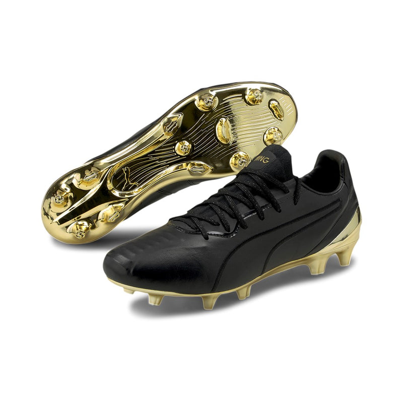PUMA KING PLATINUM FG AG football cipő Puma Black-Puma Gold