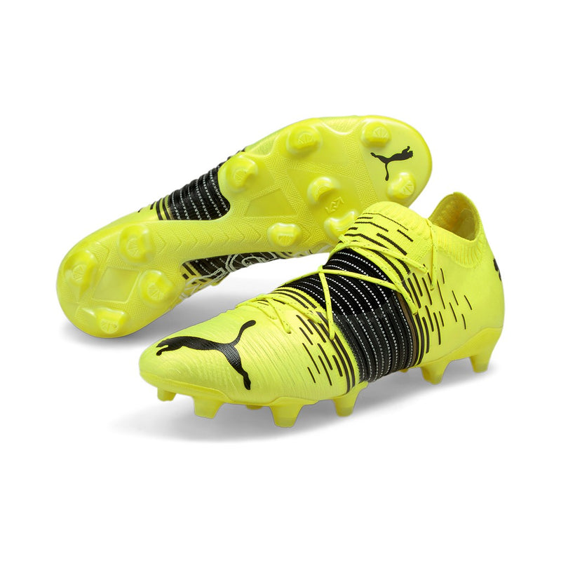 FUTURE Z 1.1 FG AG football cipő Yellow Alert-Puma Black-Puma White