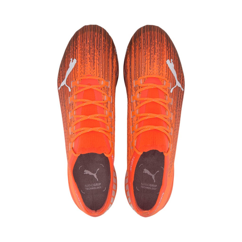 ULTRA 1.1 MxSG éles football cipő Shocking Orange-Puma Black