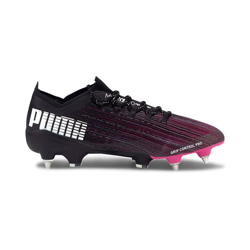 ULTRA 1.1 MxSG football cipő éles Puma Black-Luminous Pink