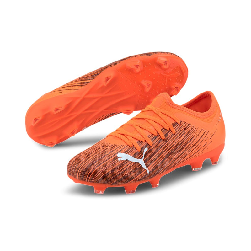 ULTRA 3.1 FG AG Jr. football cipő Shocking Orange-Puma Black