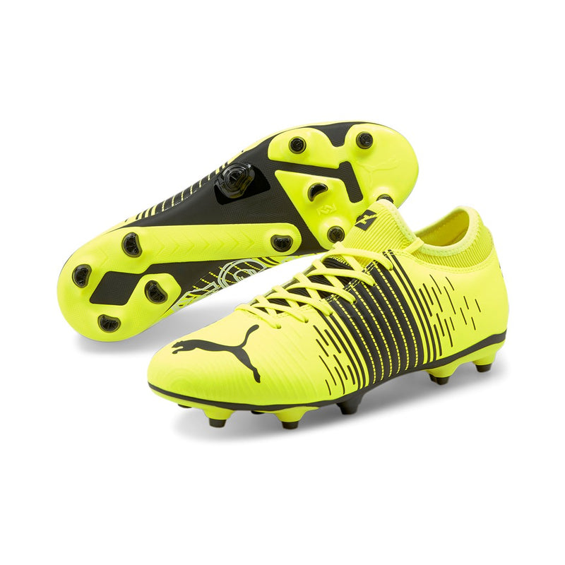 FUTURE Z 4.1 FG AG football cipő Yellow Alert-Puma Black-Puma White