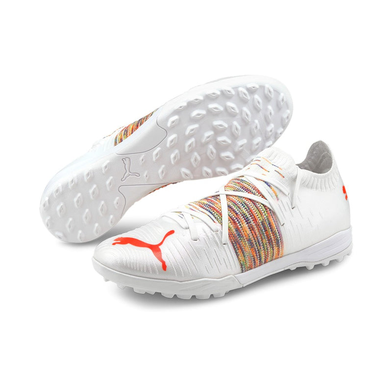 FUTURE Z 1.1 Pro Cage TT football cipő műfűre Puma White-Red Blast