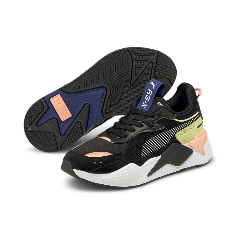 RS-X Reinvent Wn's sneaker női cipő Puma Black-Apricot Blush-Yellow Pear