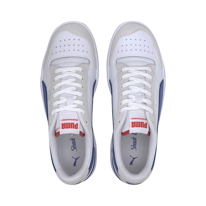 Ralph Sampson Lo vintage férfi sneaker cipő Puma White-Dazzling Blue-High Risk Red - Teamsport & Lifestyle