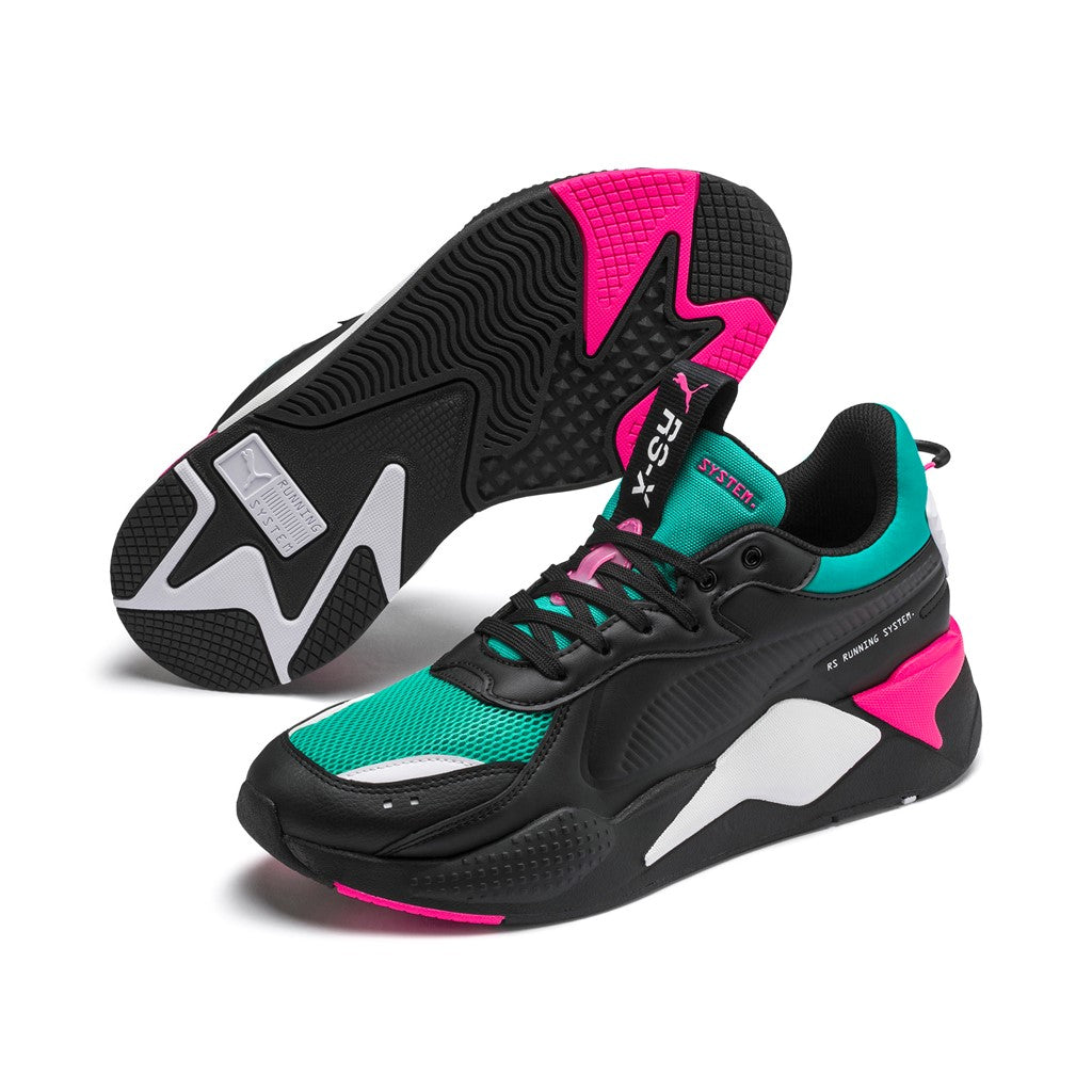RS-X MASTER unisex cipő Puma Black-Spectra Green - Teamsport & Lifestyle