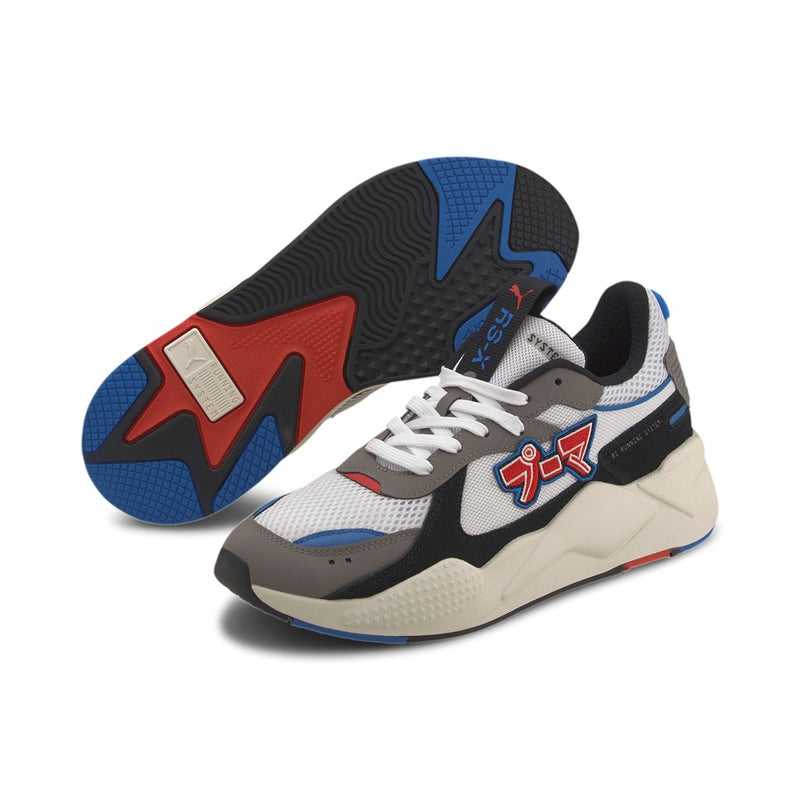 RS-X Japanorama sneaker Puma White-Steel Gray