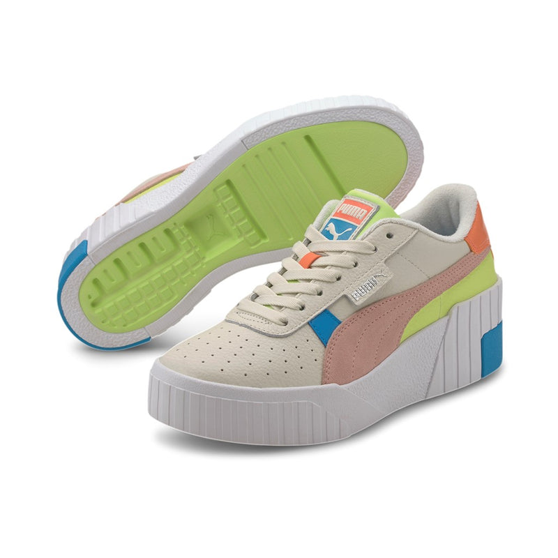 Cali Wedge Sunset BV Wn-s Női cipő Marshmallow-Puma White-Sharp Green