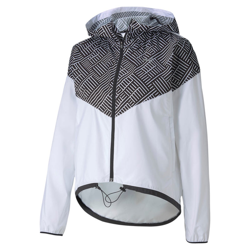 Last Lap Hooded női dzseki Puma White-Puma Black - Teamsport & Lifestyle