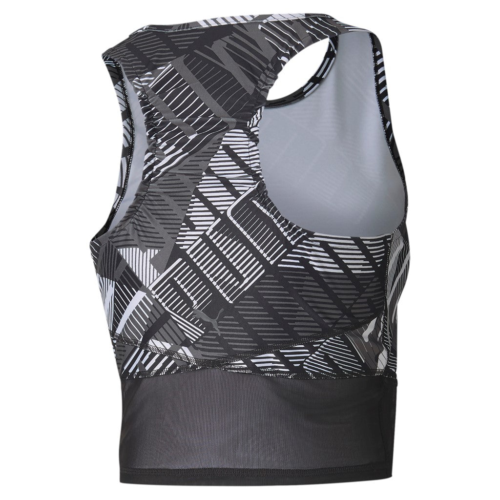 Be Bold AOP Crop női fitness felső Puma Black-Puma White - Teamsport & Lifestyle
