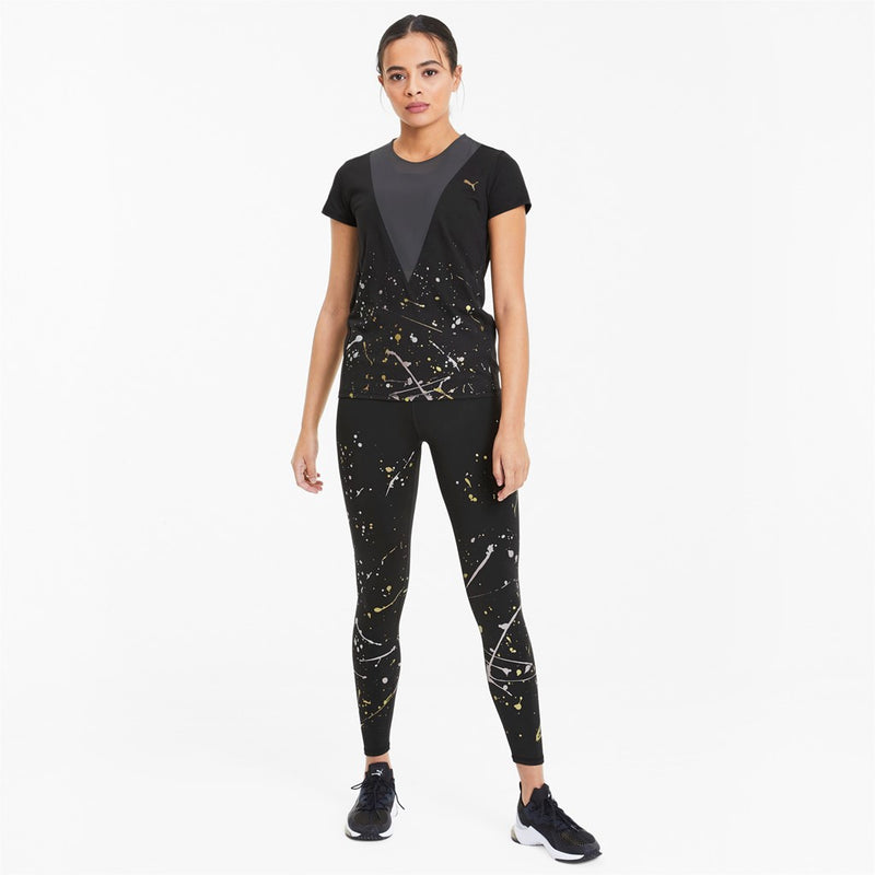 Metal Splash Deep V Tee női póló Puma Black - Teamsport & Lifestyle