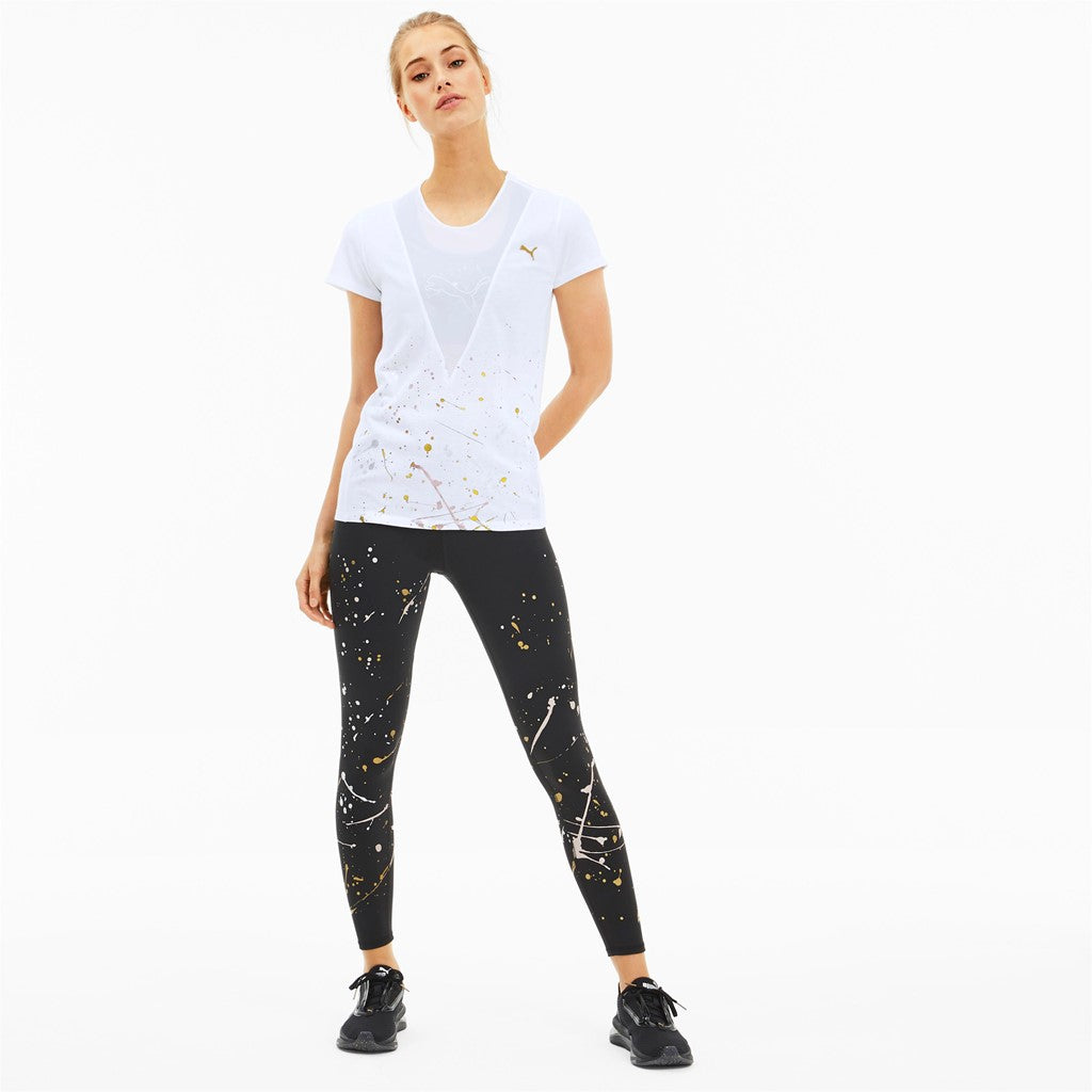 Metal Splash Deep V Tee női póló Puma White - Teamsport & Lifestyle