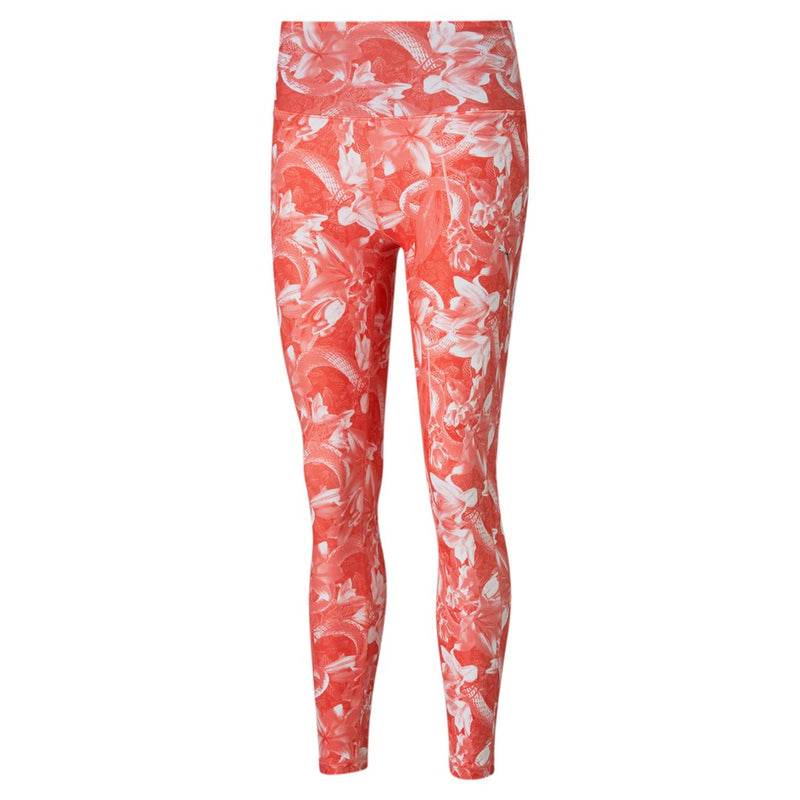 Train UNTMD AOP HW 7 8 Tight női fitness nadrág Georgia Peach-Floral print
