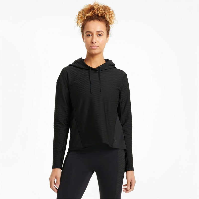 Train Fawless Pullover Hoodie női lifestyle felső Puma Black