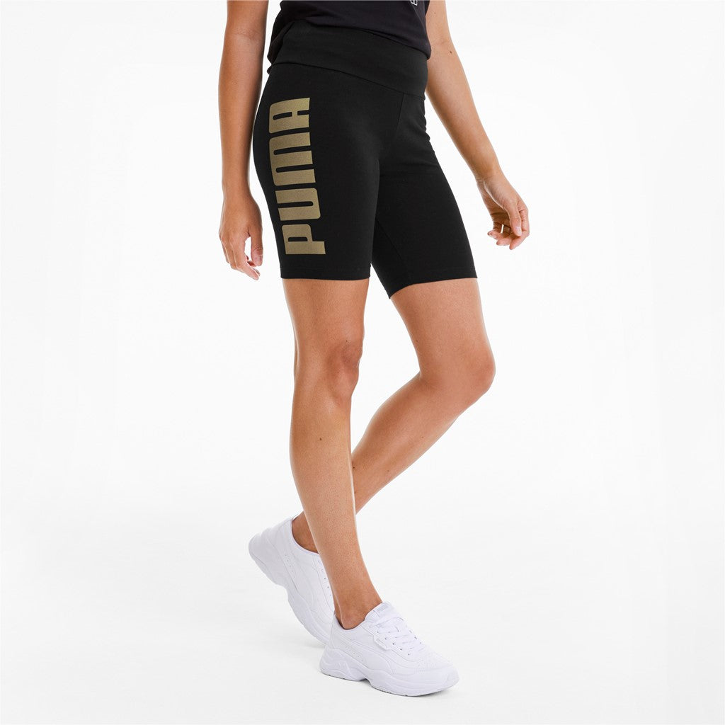 Rebel 7' női Short Tight Puma Black-Gold Sil - Teamsport & Lifestyle