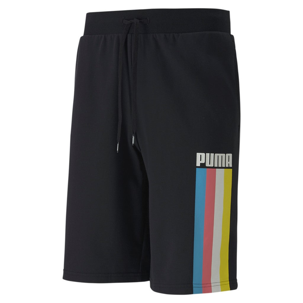 CELEBRATION Short férfi rövid nadrág Cotton Black-Stripe - Teamsport & Lifestyle