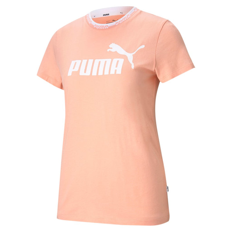 Amplified Graphic női Puma póló Apricot Blush