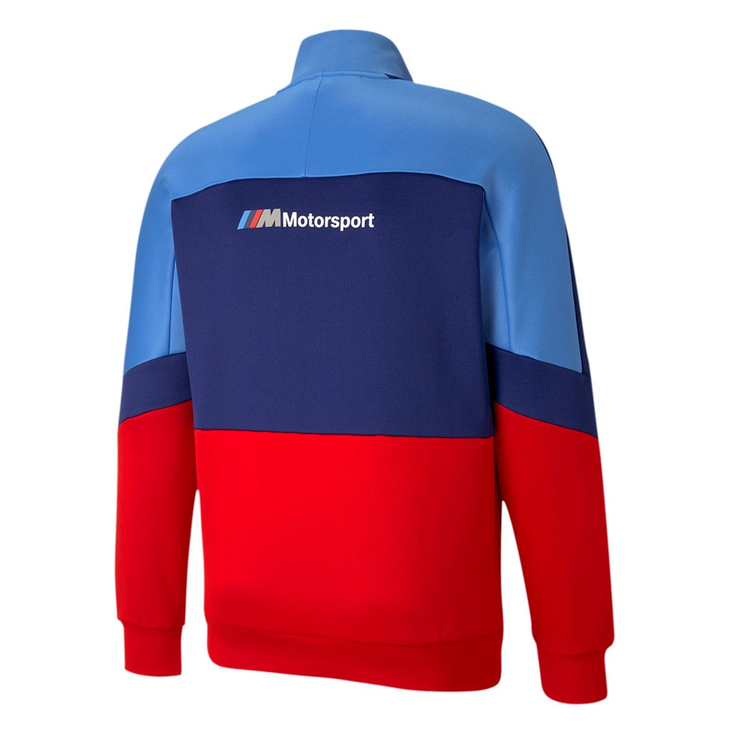 BMW MMS T7 Track Jacket ffi felső Marina-Blueprint-High Risk Red - Teamsport & Lifestyle