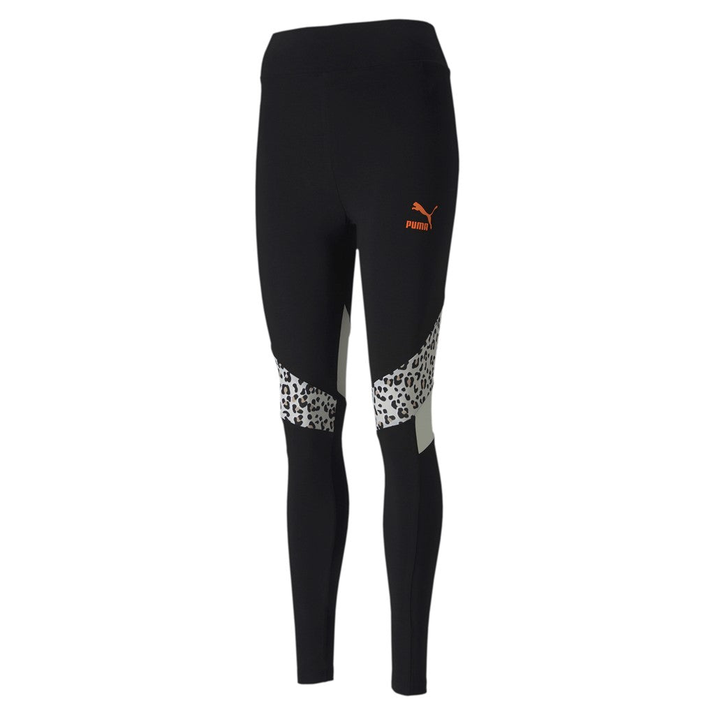 TFS HR Leggings női fitness nadrág Puma Black-animal